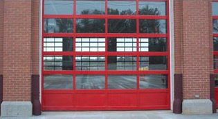 Commercial Aluminum Garage Doors