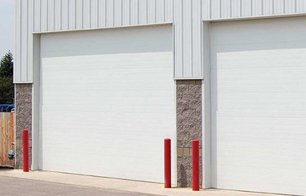 Northeast Georgia Gutters and Garage Doors, Inc. - Commercial Insulated Sandwich Garage Door