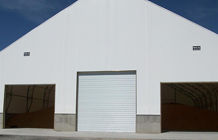 Northeast Georgia Gutters and Garage Doors, Inc. - Commercial Ribbed Steel Pan Garage Door - 3251