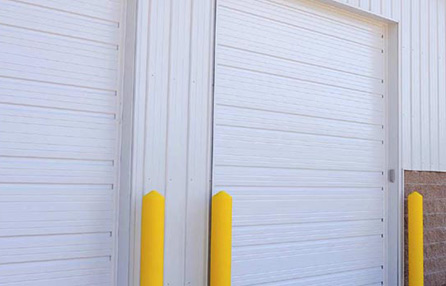 Northeast Georgia Gutters and Garage Doors, Inc. - Commercial Ribbed Steel Pan Garage Door