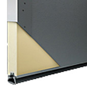 Commercial Garage Door Sections - Polyurethane Insulation